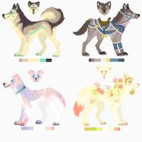 Cool kids ADOPTS (CLOSED) by PaintedPeaches