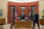 Cable and Deadpool White house  Live 1 by Darth-Slayer