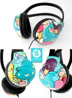 delicious deep sea headphones by Bobsmade