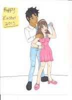 Happy Easter 2013 by Bellawho1