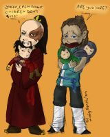 ATLA_Sokka and Zuko by LadyNorthstar