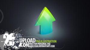 Upload Icon by sargsyan