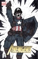 WWII Captain America by MChampion