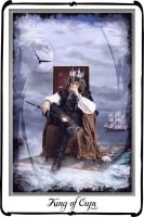 Tarot : King of Cups by azurylipfe