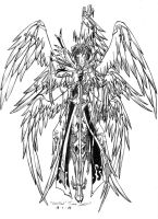 Nine-wings Seraph by BlackKrogoth
