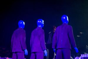 Blue Man Group by mbaione