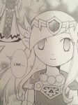 Minish Cap Manga - Princess Zelda by HawtLinkGasm64
