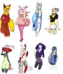Gijinka Girls by Cancer-Cub