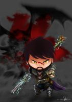 Chibi Hawke by peastri
