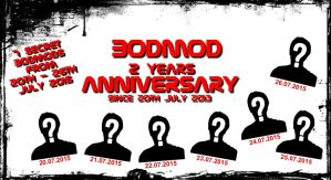 BodMod 2 Years Anniversary by Koza-Kun