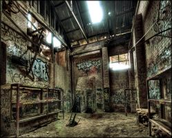 Drenched in Decay. HDR. by DirtyLittleDevil