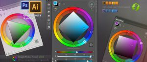 MagicPicker 3.0: New Color Wheel modes in PS, AI by Anastasiy