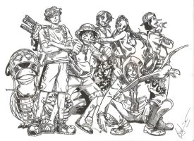 One Piece by Guon--22