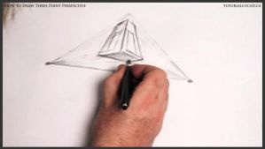 Learn how to draw three point perspective 007 by drawingcourse