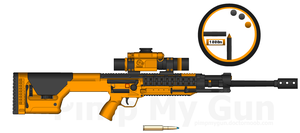 Astronar's XG-1200 Anti Material Rifle by Storm-X