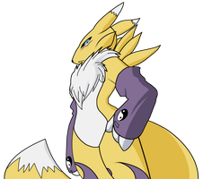 Renamon: New Jutsu - Colors by CoolProjects