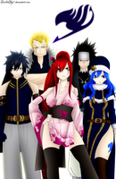 Fairy tail team (FT303) by ScarletSky7