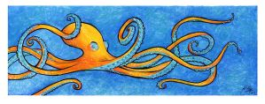 Complementary Cephalopod by Quackamos