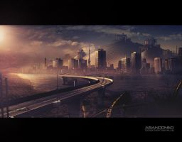 ABANDONED  Mattepainting by megamars