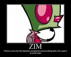 Zim's descreption by IZfan4eva