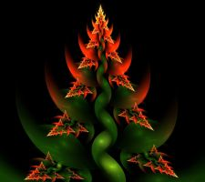 (Burning) Christmas Tree by eReSaW