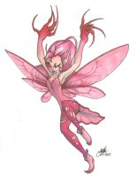 Sissy Fairy in a Pink Tutu by Morgween