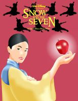 Snow and the Seven Poster by LordAkiyama