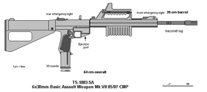 Basic Assault Weapon Mk VII by scifibug