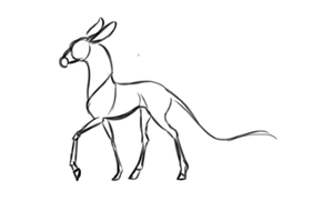 Fawnling Walk Cycle - WIP by strideroo