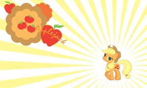 Applejack Wall by Evilarticfox