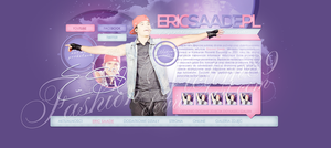 eric saade PL - premade by FashionVictim89