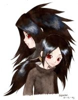 again, madara and izuna by Liedeke