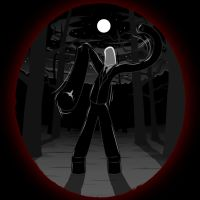 Wacky Waving Inflatable Slender Man by cow41087