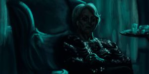 Maggie Smith by DiscoveringArtWorld