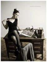 Librarian 1 by Molly-Tantrum
