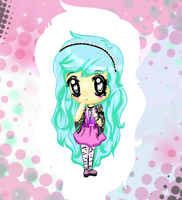 Pastel Goth Chibii by LookAliveHolly