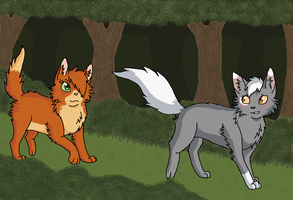 Leafclan Assignment - Walking Together by StormHollie