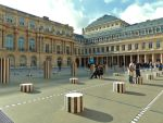 Day 58: Le Palais Royal Courtyard by TheLittle1