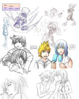 KH - loose ends and others by rubyd
