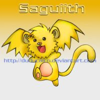 Saguiith Colored by duducaico