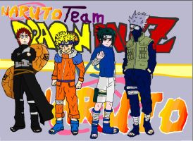 DBN Naruto team by BANGDK