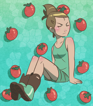 Tomatoes by prismageek