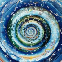 Blue Spiral by 8DFineArt