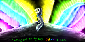 Twisting and Turning the Colors in Rows by Etheral-Fox