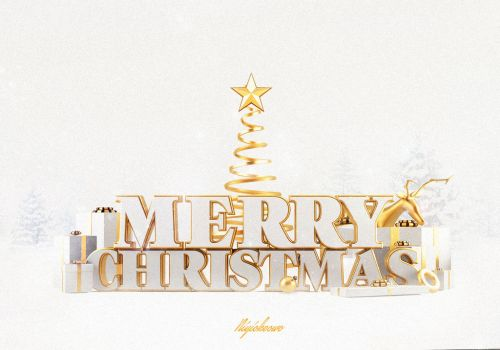 Merry Christmas by 123zion456