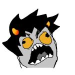 Rage Karkat Icon - White by RageKarkatplz