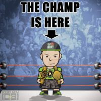 The Champ is Here by neueziel