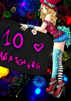 10 WATCHERS!!!! by AEdelline