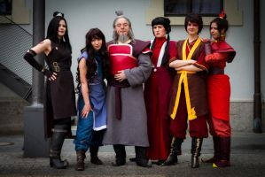 2013: Avatar Group (Avatar - The Last Airbender) by shari81