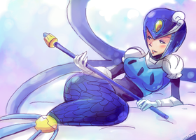 splashwoman by mizz-ninja